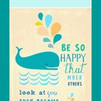 Motivational Bookmark: Be Good, Be Happy