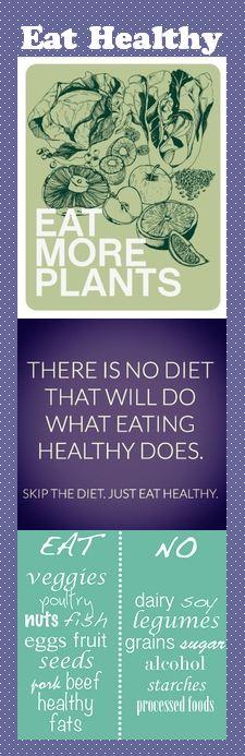 Motivational Bookmark - Eat Healthy
