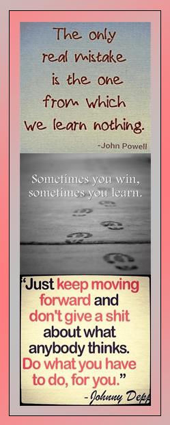 Motivational Bookmark: Learn Something
