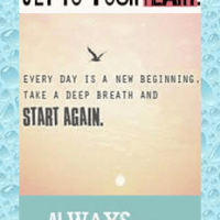 Take a Deep Breath, Then Start Again