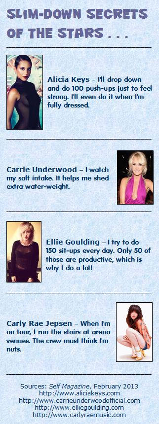 Slimdown Secrets of the Stars: Singers