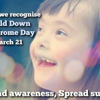 World Down Syndrome Day: March 21st