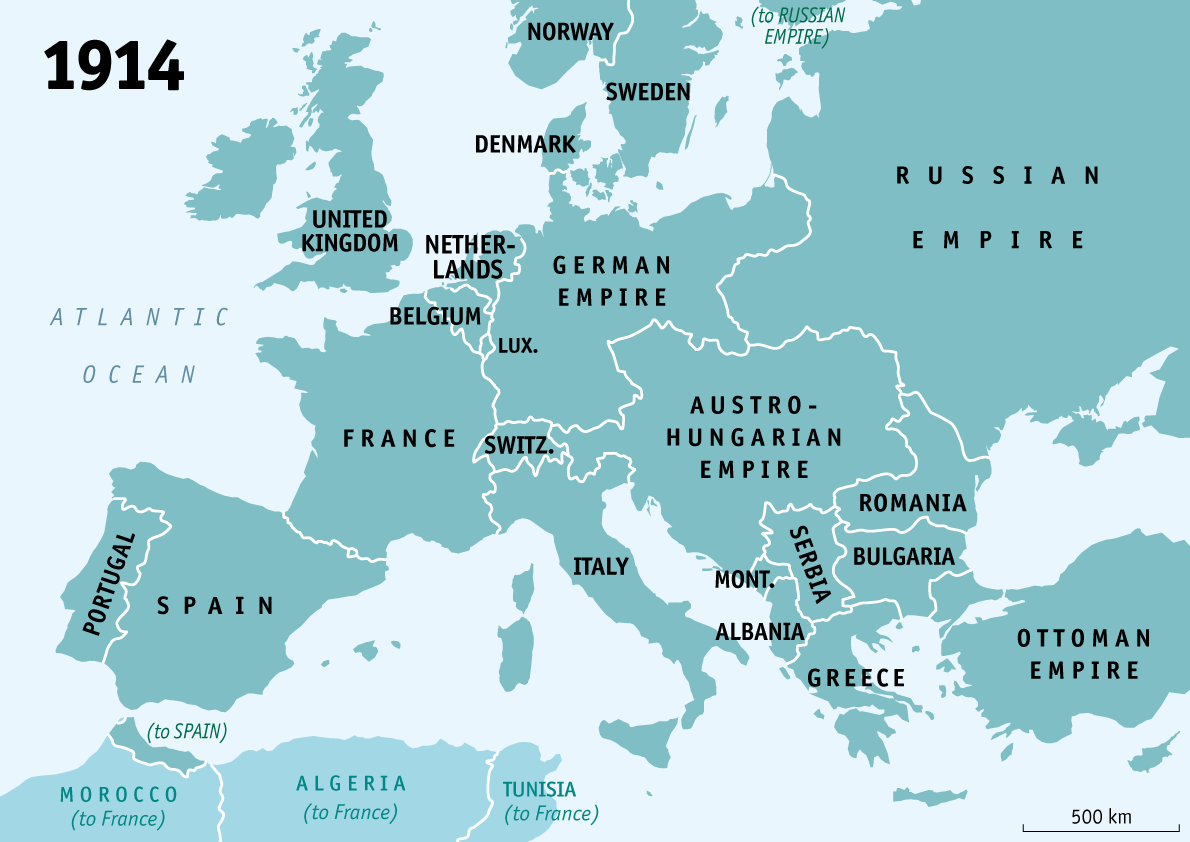 How Wwi Reshaped Europe