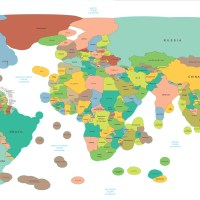 The World's political borders drawn to include Territorial Waters
