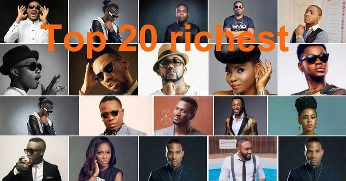 Top 20 Richest Musicians in Nigeria - Forbes 2019 and Their