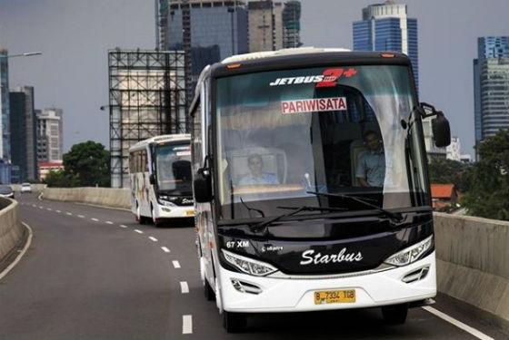Jasa Penyedia Bus Pariwisata di Batusari Tangerang 1
