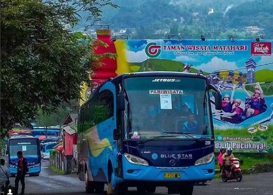 Jasa Sewa Bus Pariwisata Blue Star di Harapan Jaya Bekasi 4