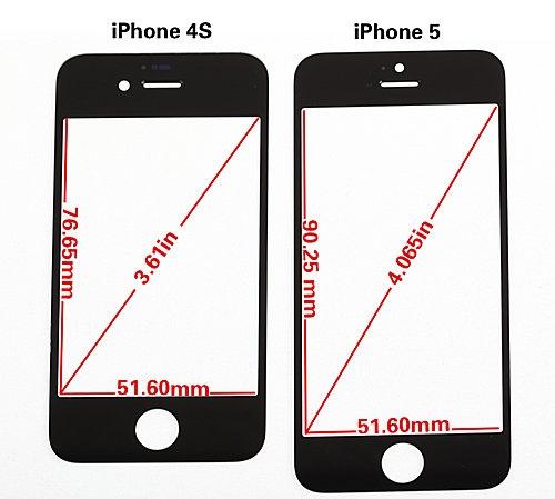 iphone 5 un ecran plus resistant et