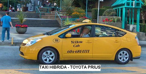 Mobil Taksi Hibrida - Toyota Prius