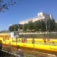 CITY WAVE - PREMIERĂ: Am întâlnit și români fericiți. Râdeau în chiloți lângă Casa Poporului!