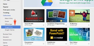 where to find apps for Google Drive