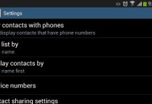 contacts with phone numbers