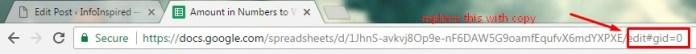Share Google Sheet Files on Copy Mode