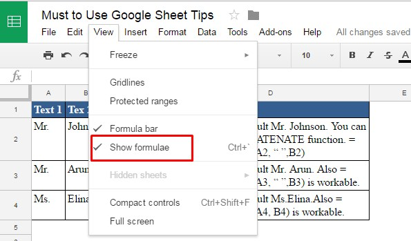 Copy and Paste from Google Sheet to Excel with Formulas