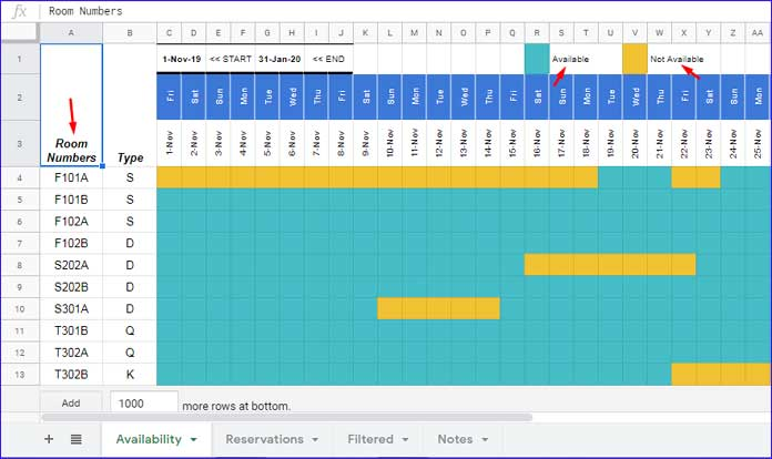 08/07/2021· conference room schedule provides a better and simple way to organize and manage conferences of the business or company. Reservation And Booking Status Calendar Template In Google Sheets