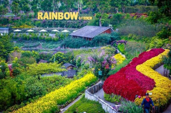 Rainbow Garden Lembang Bandung
