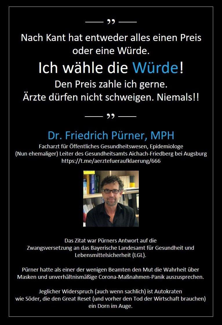 Dr. Friedrich Pürner, MPH