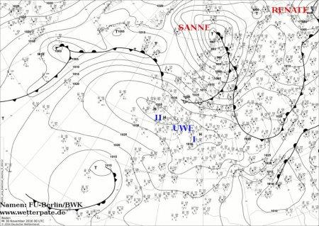 """В Украину надвигается мощный циклон """"Санне"""""""