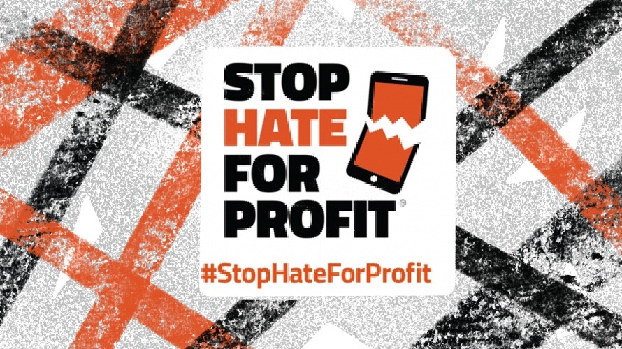 stop hate for profit campaign