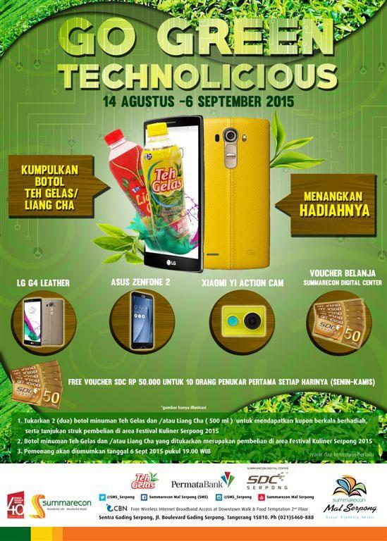 info kuis berhadiah go green technolicious