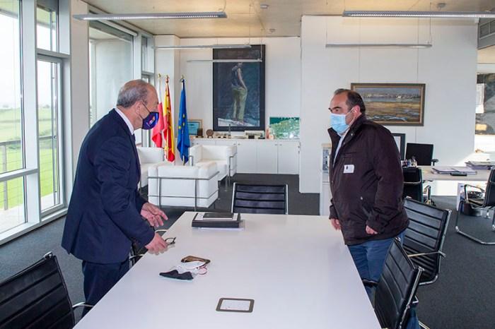 Marcano y Casares toman contacto para preparar el Año Jubilar Lebaniego 2023