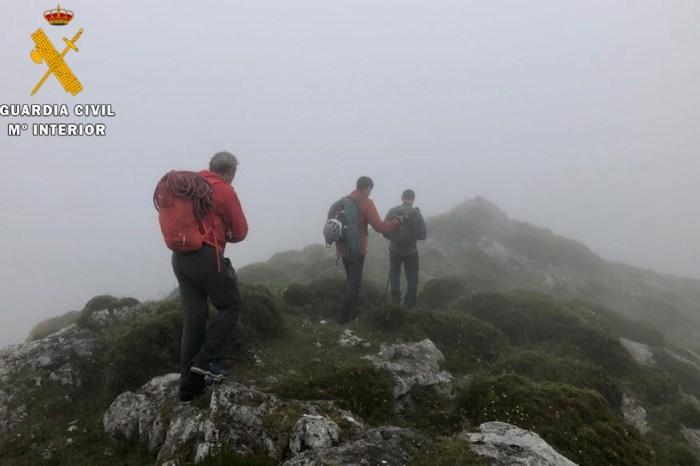 Rescatados dos montañeros en la vía de escalada del Pilar de la Hermida