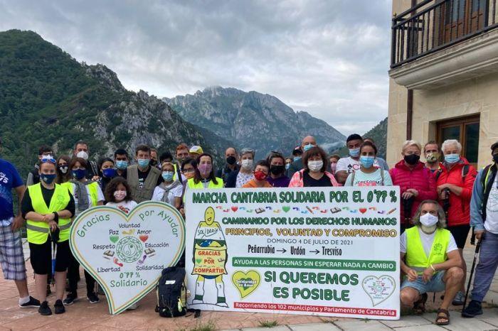 'Cantabria Solidaria por el 0,77%' recorrerá varios municipios de Liébana el 29 de agosto