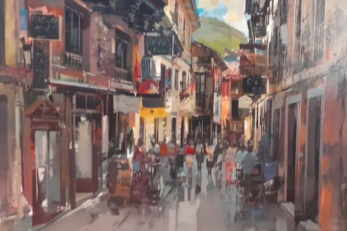Blair Tomas gana el X Concurso nacional de Pintura al aire libre 'Liébana'