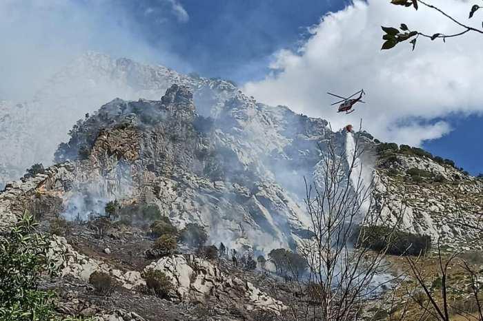 Cillorigo de Liébana registra un incendio en las proximidades de la N-621