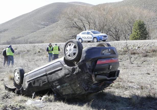 Accidente en la Ruta 40