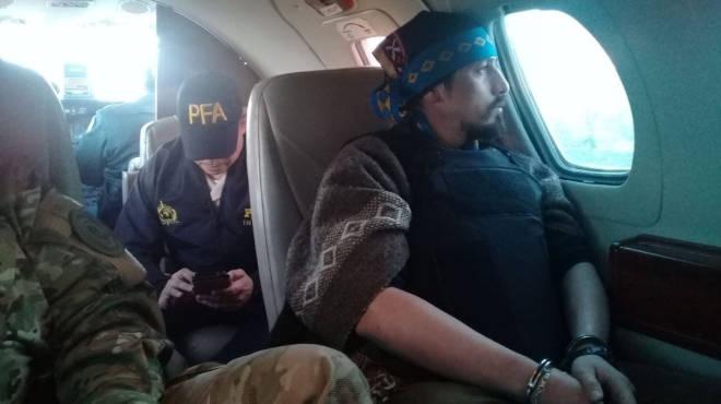 Extraditaron a Facundo Jones Huala a Chile