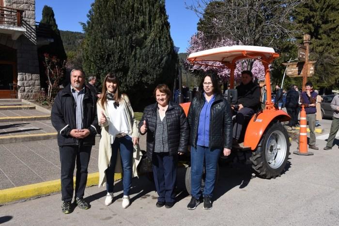 La Intendente, recibió nuevo equipamiento para Obras y Servicios Públicos