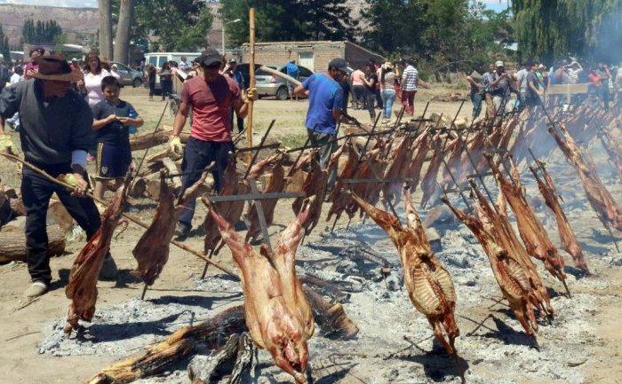 Arrancó la Fiesta Nacional del Chivito