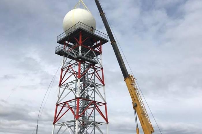 Radar Meteorológico, del INVAP en la zona mas austral del mundo