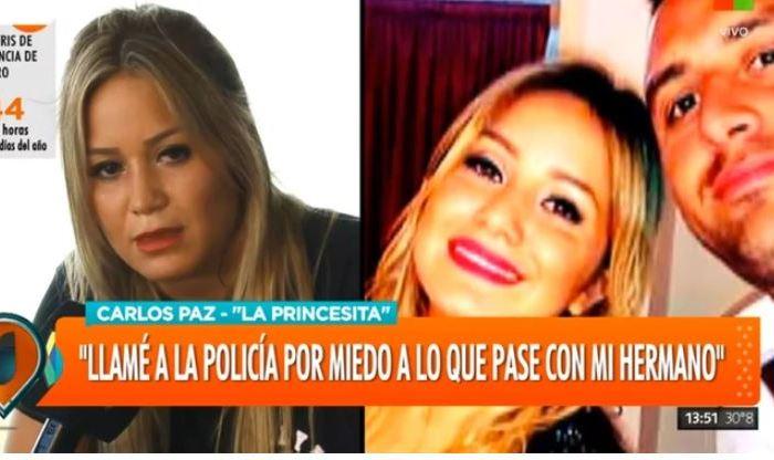"""Karina La Princesita habló luego de la agresión de su hermano: """"Subí el video por miedo, fue un pedido de ayuda"""""""