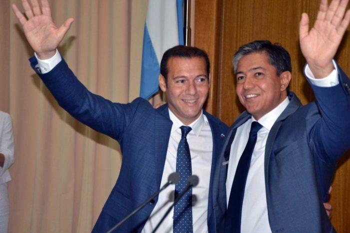 Figueroa quedó a cargo del gobierno y hace campaña por Gutiérrez