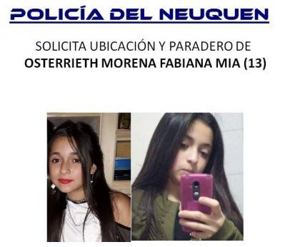 Se solicita el paradero de Fabiana Mía Osterrieth