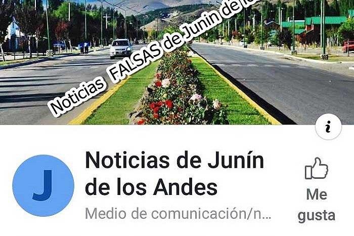 Preocupan publicaciones falsas y confusas en Junín de los Andes