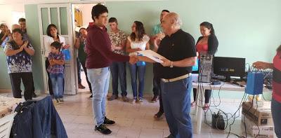 Entregaron viviendas y mejoramientos habitacionales en Santo Tomás