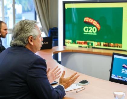 Un Pacto de Solidaridad Global y un Fondo Humanitario, las propuestas de Fernández