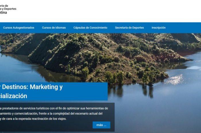 Turismo de Provincia invita a Cursos Virtuales de Nación