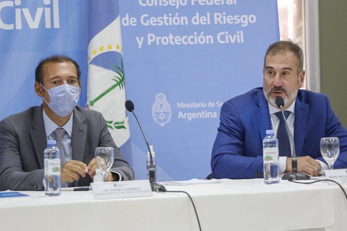 Finalizó el Consejo Regional de Gestión del Riesgo y Protección Civil