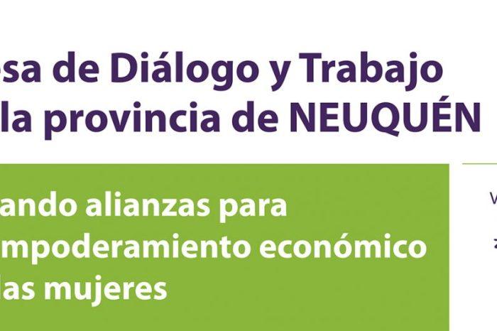 Primera Mesa de Diálogo para promover el empoderamiento y autonomía económica de la mujer en la provincia