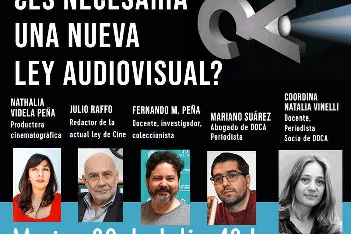 ¿Es necesaria una nueva Ley Audiovisual?