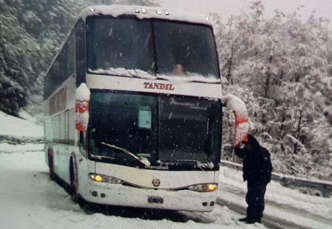 Interrumpido el tránsito en Ruta Nacional 40, tramo San Martín de los Andes – Empalme Ruta Nacional 231