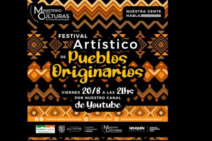 El ministerio de las Culturas invita al Festival Artístico de Pueblos Originarios