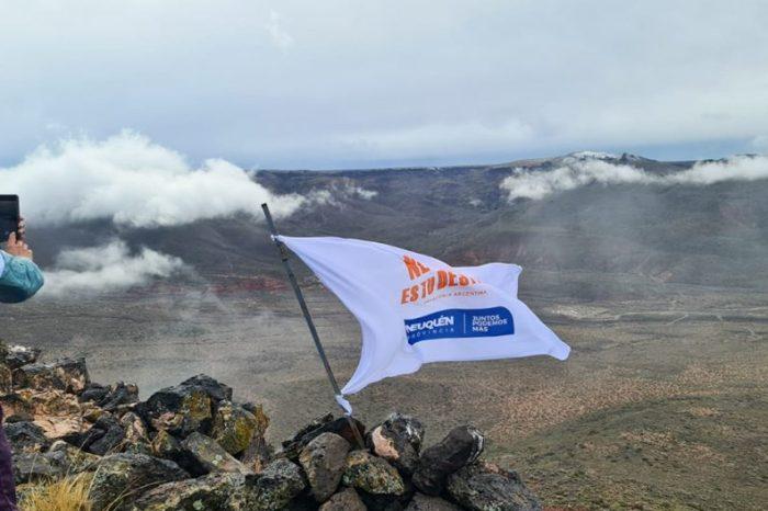 Se realizó el Primer Trekking a la Cumbre del Cerro Mesa