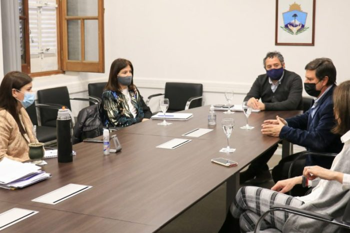 La ministra Merlo recibió a integrantes de CONIN Neuquén