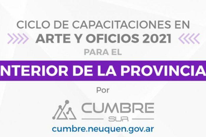 Segundo llamado a inscripción para capacitaciones en Arte y Oficios 2021