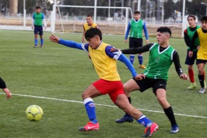 El preseleccionado de fútbol trabaja para los Juegos Nacionales de la Araucanía